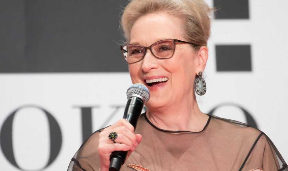 Meryl Streep su Zoom, ci delizia con una canzone