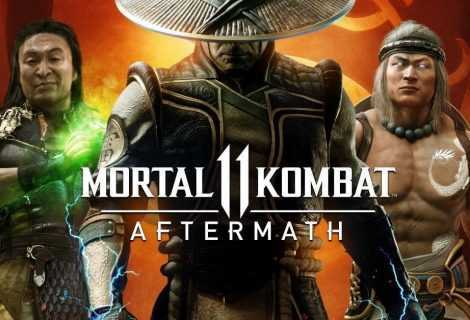 Mortal Kombat 11: Aftermath è disponibile da oggi