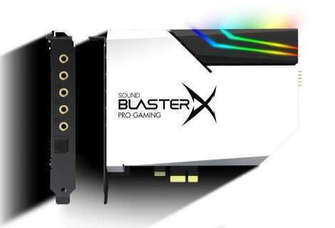 Sound BlasterX AE-5 Plus: arriva la versione Pure Edition