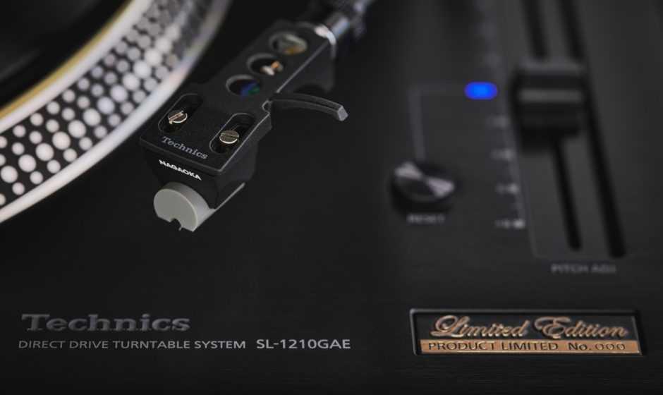 Technics: ecco il nuovo giradischi SL-1210GAE Limited Edition