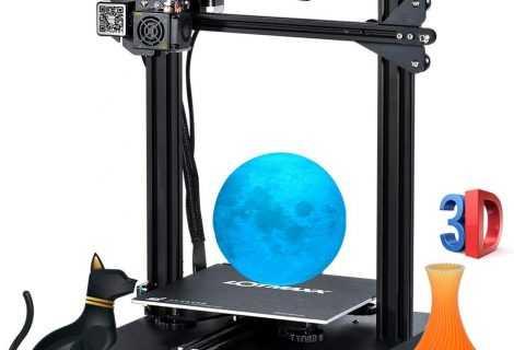 LOTMAXX SC-10: la stampante 3D in super offerta su Cafago