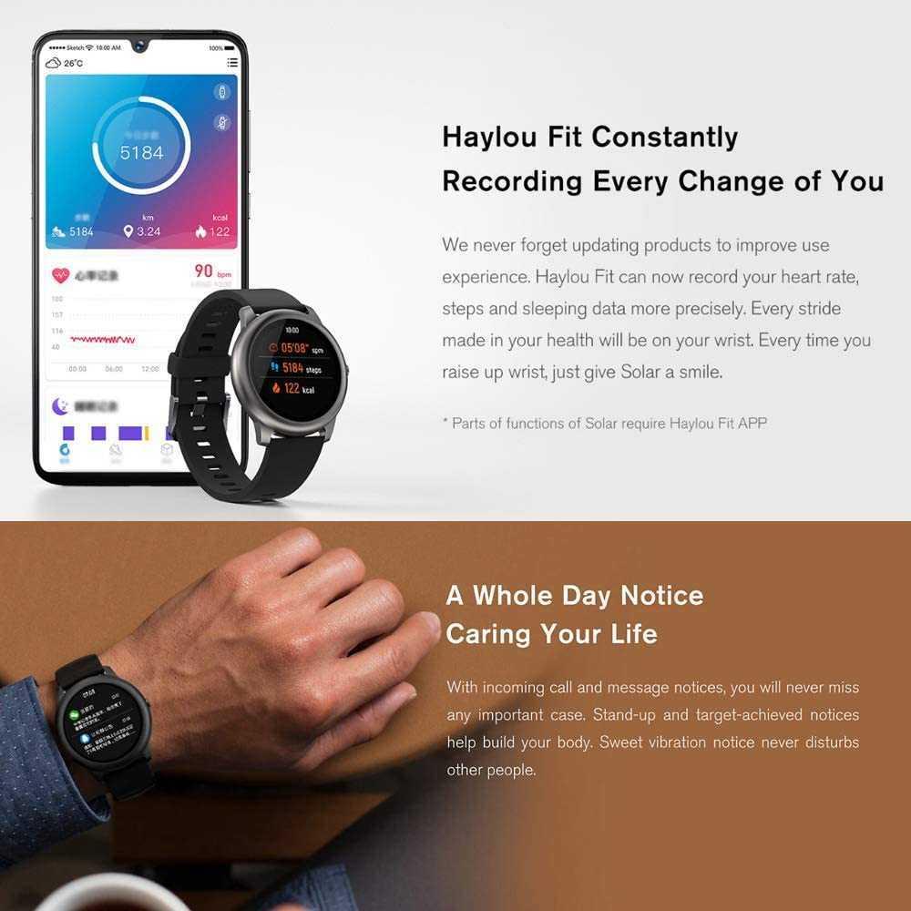 Haylou Solar LS05: lo smartwatch per tutti in offerta su Cafago