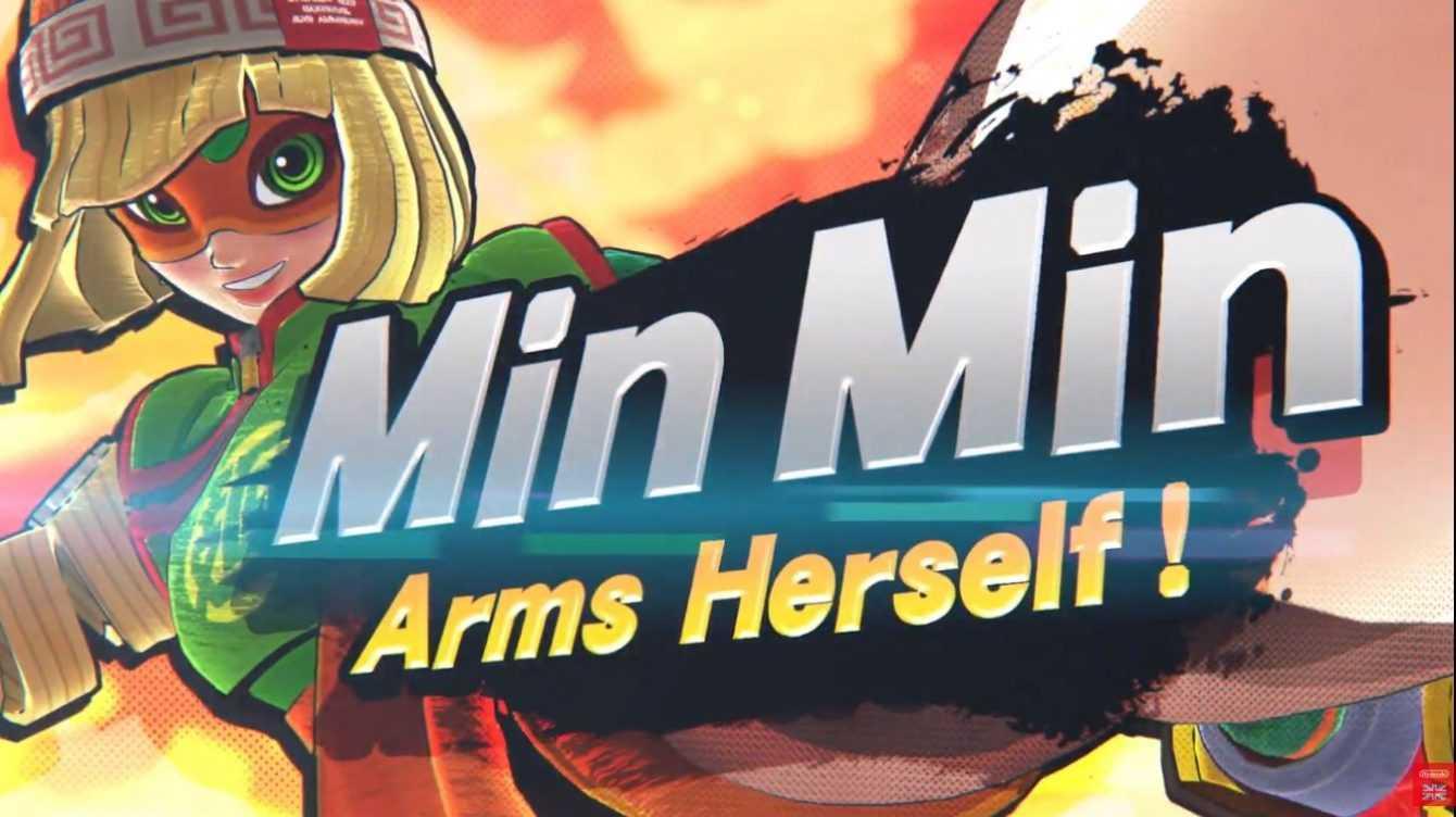 Super Smash Bros Ultimate: la patch 8.0 con Min Min è disponibile da oggi
