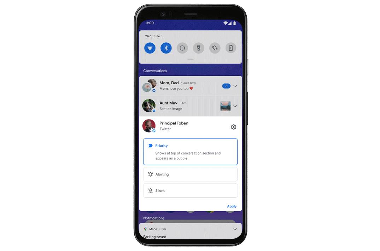 Android 11: ecco tutte le novità della Beta 1