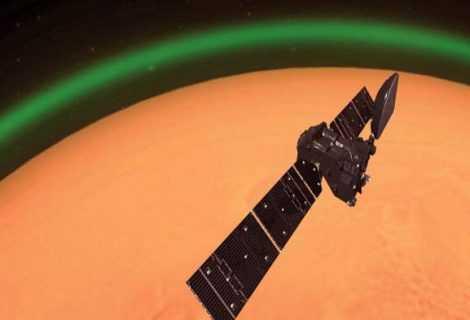 Aurore: rilevate per la prima volta sul pianeta rosso