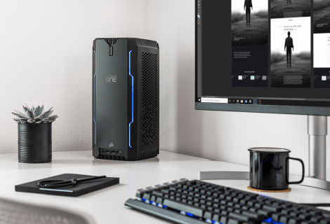 CORSAIR ONE a100: ecco il PC compatto con AMD Ryzen 3000