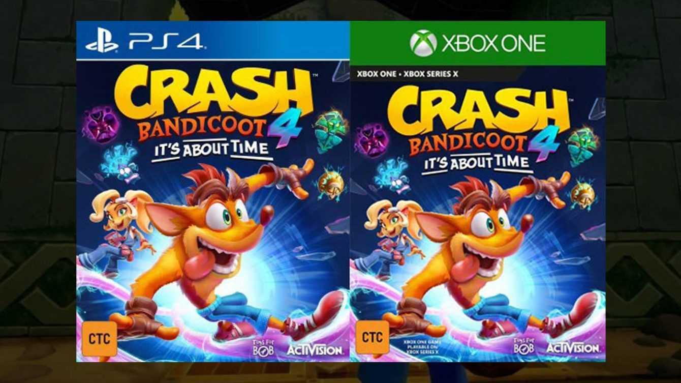 Crash Bandicoot 4 It's about time: è stato appena svelato?