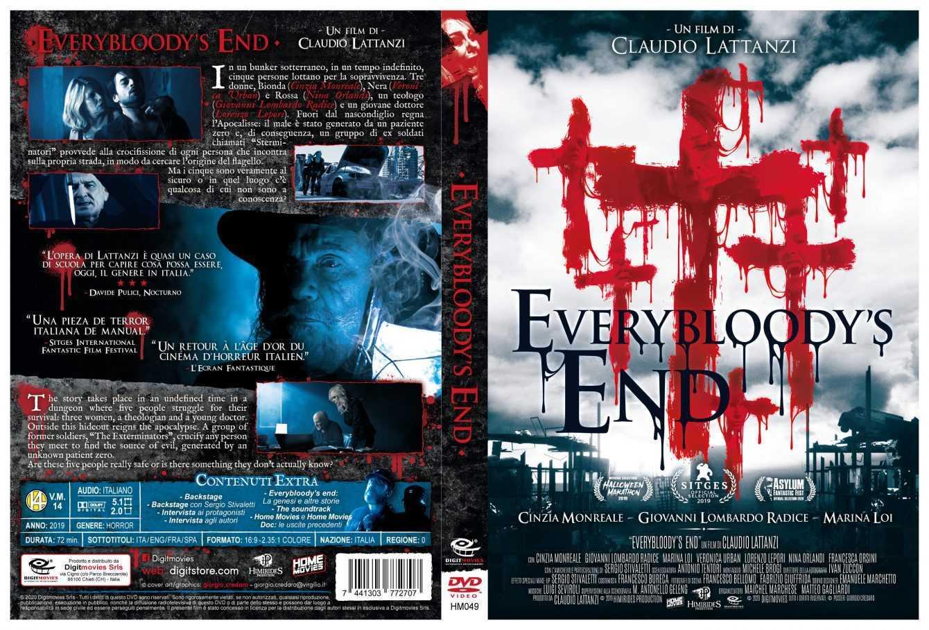 Everybloody's End: quattro diverse edizioni home video a giugno