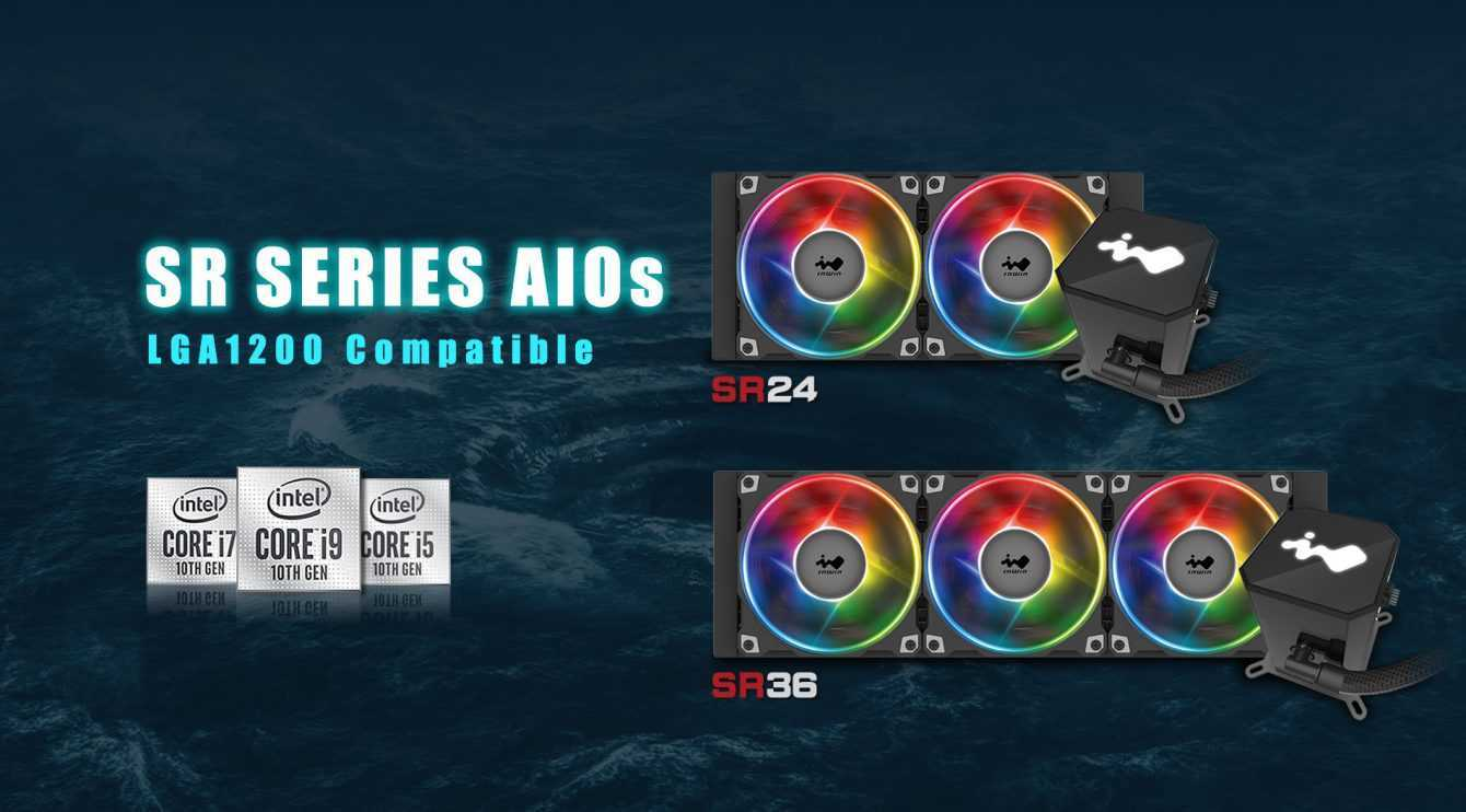 InWin: disponibili i nuovi AiO SR24 ed SR36