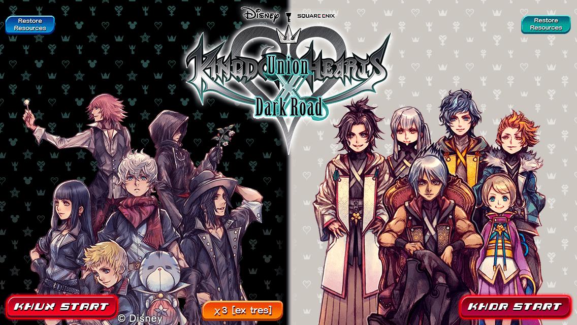 Kingdom Hearts: Dark Road, disponibile gratuitamente da oggi