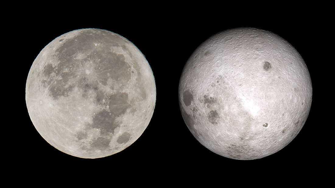 Luna: perché le sue facce sono così diverse?