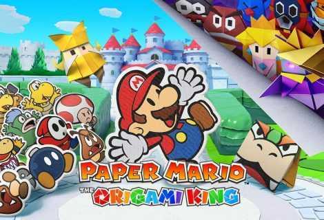 Paper Mario: The Origami King, il nuovo trailer spiega gli scontri