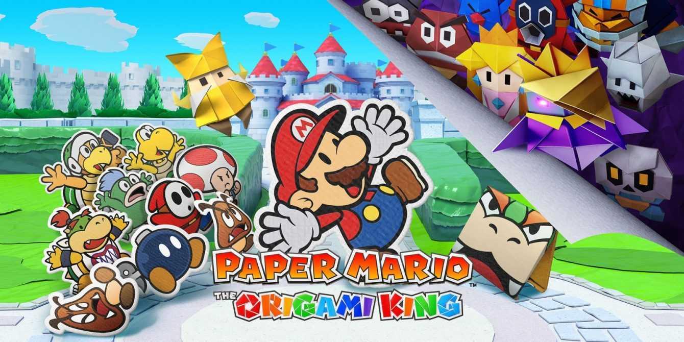 Paper Mario: The Origami King, 34 minuti di gameplay nel nuo