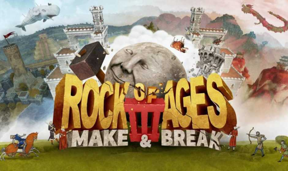 Recensione Rock of Ages 3: Make & Brake, rotolare su Nintendo Switch