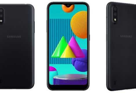 Samsung Galaxy M01: specifiche e prezzo ufficiali