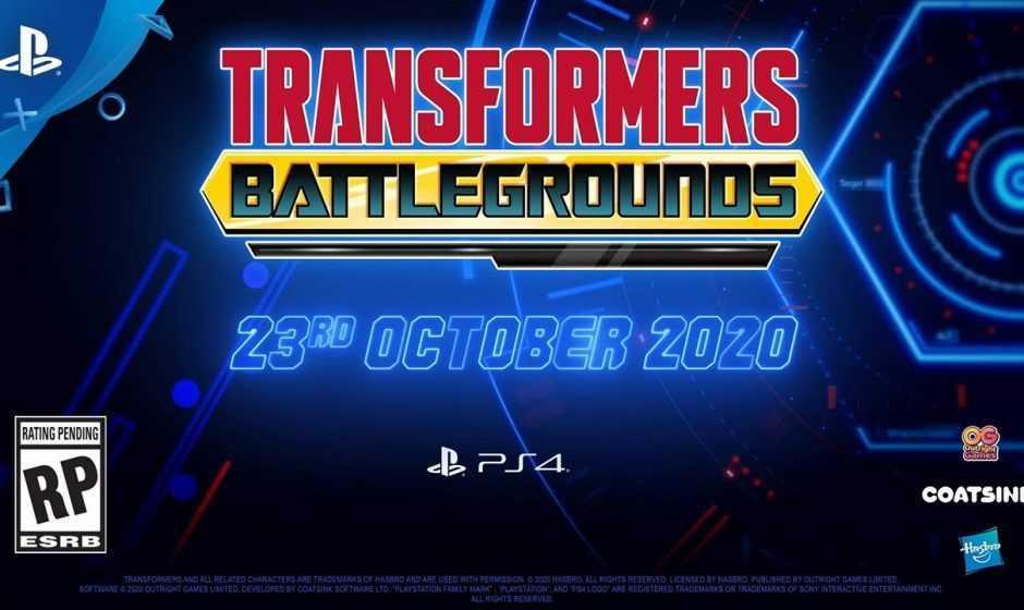 Transformers Battlegrounds: svelata la data d'uscita