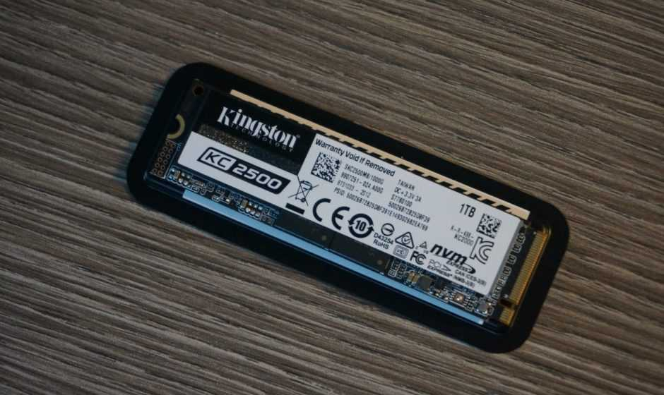 Recensione Kingston KC2500 NVMe: performance premium!