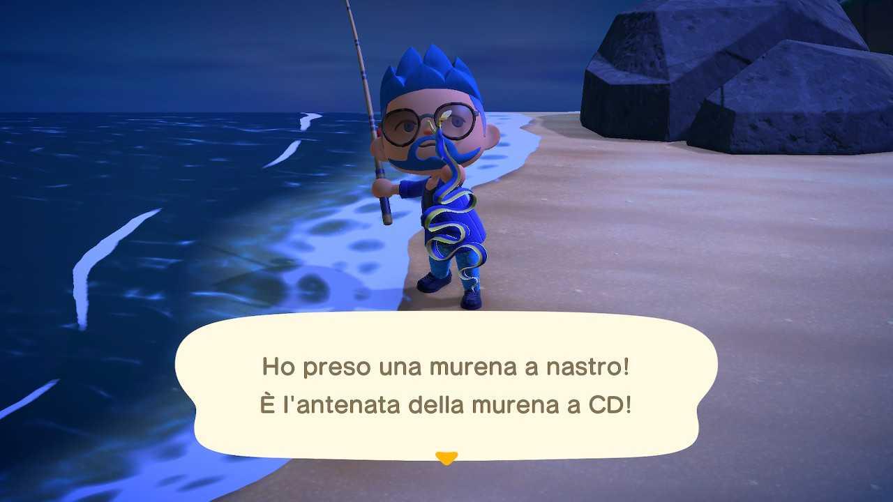 Animal Crossing: New Horizons i pesci e gli insetti di Giugno