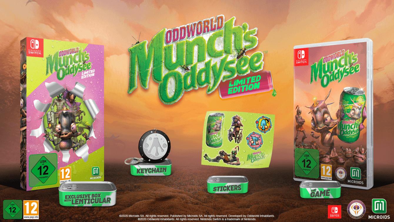 Oddworld: Munch's Odyssee, l'edizione retail ha una data di uscita