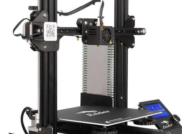 Creality Ender 3: la stampante 3D in offerta su Tomtop