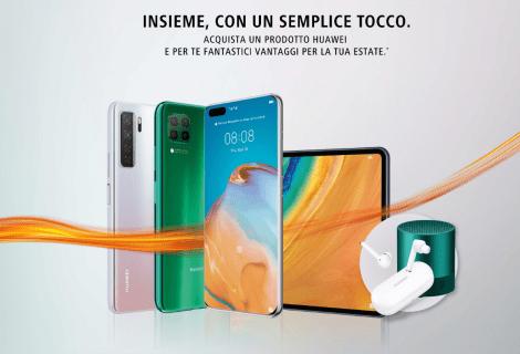 Huawei Summer Campaign: prodotti e servizi in omaggio