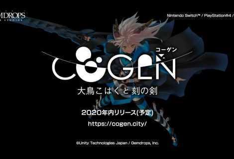 Cogen: Sword of Rewind, uscirà nel 2020 per PS4, Switch e PC