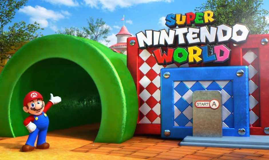 Super Nintendo World: slittata l'apertura del parco a tema