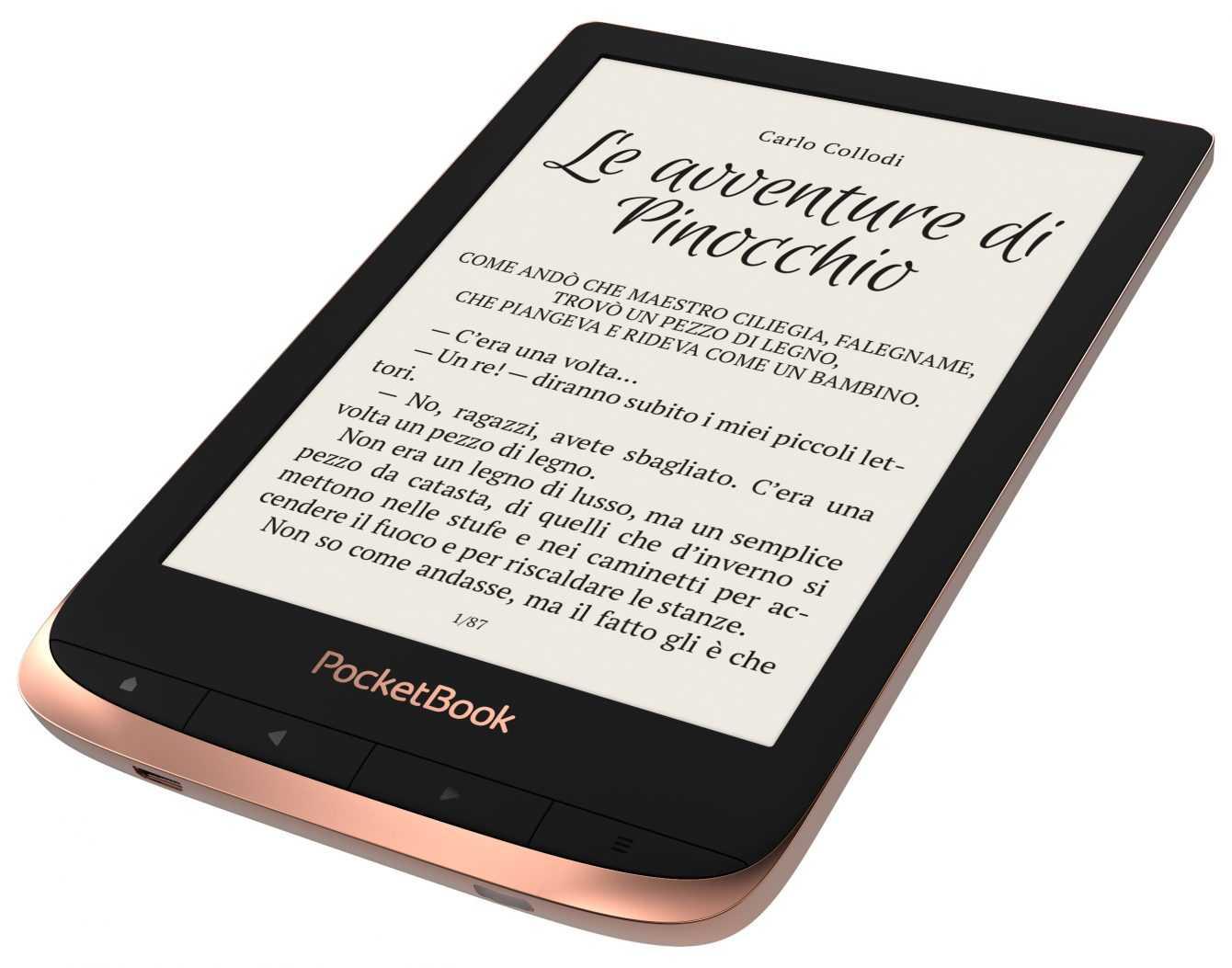 PocketBook Touch HD 3 è la scelta giusta per lettura e audiolibri