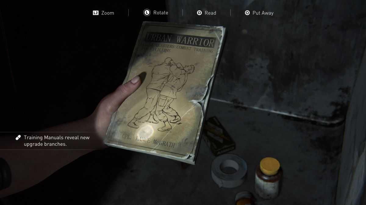 The Last of Us 2: guida ai manuali di addestramento
