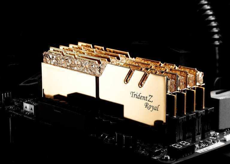 G.Skill: annunciati nuovi moduli RAM da 4400MHz