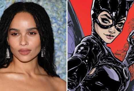 Zoë Kravitz racconta il costume da Catwoman del nuovo film DC