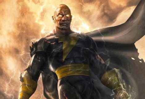 Black Adam: le prime immagini nel teaser narrato da The Rock