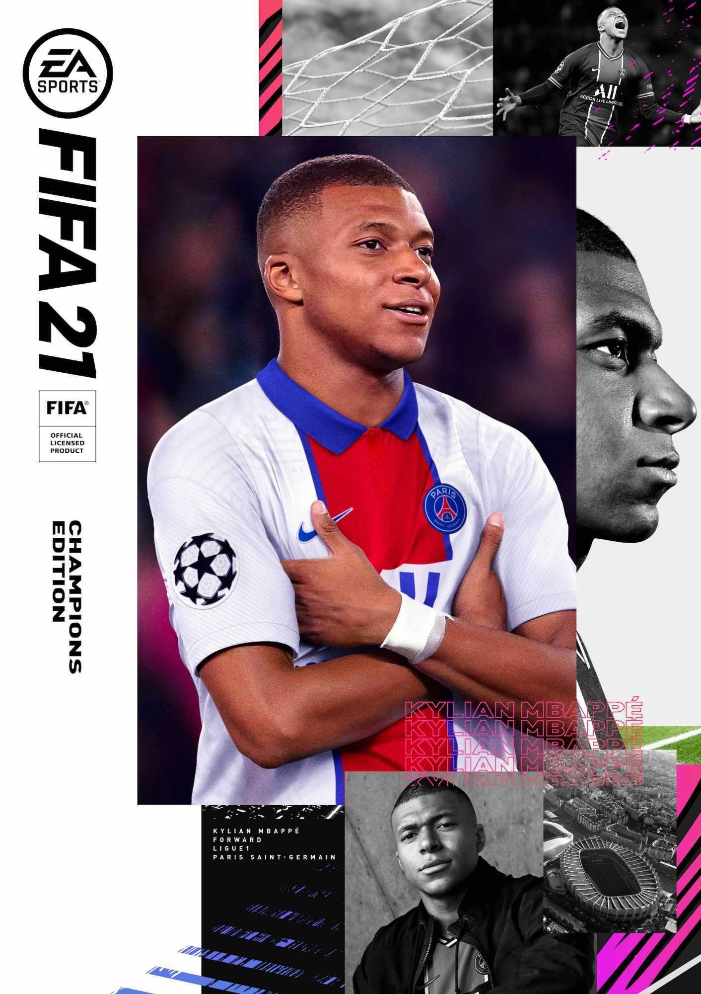 FIFA 21: Kylian Mbappé è il nuovo uomo copertina!