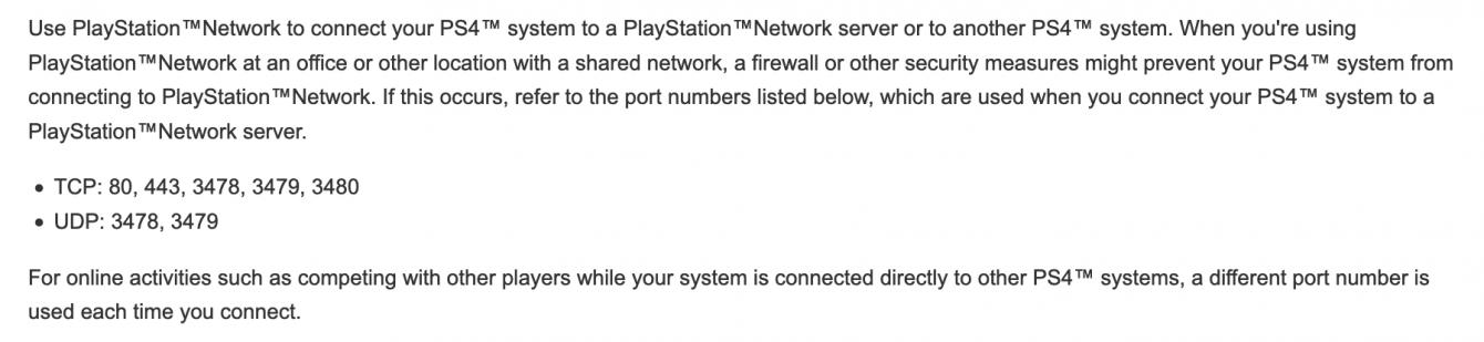 Come impostare il NAT 1 su PS4