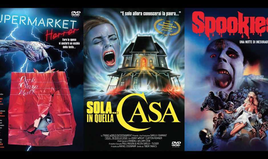 L'horror anni '80 in DVD con Supermarket horror, Spookies e Sola… in quella casa