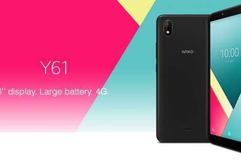 Wiko Y61: le specifiche del nuovo smartphone economico