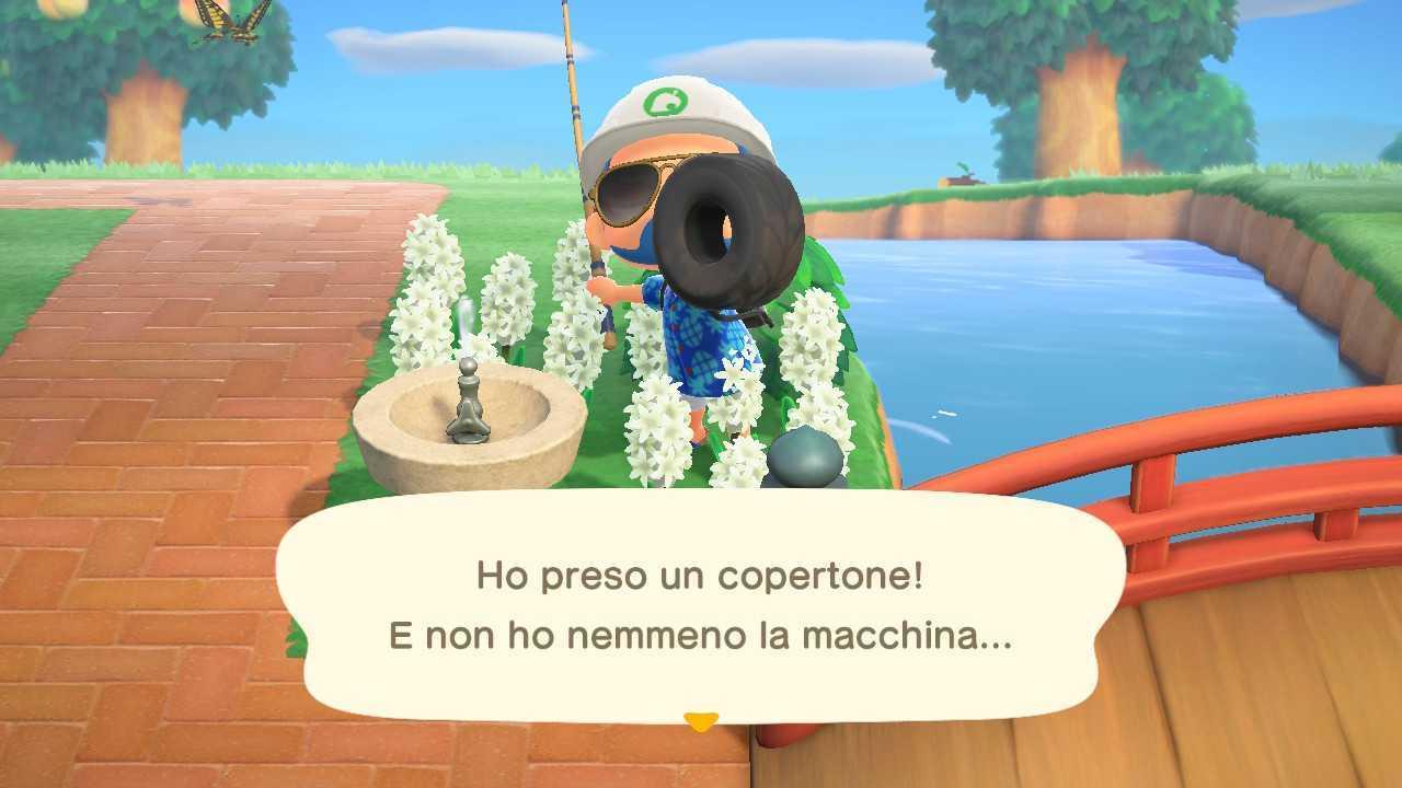 Animal Crossing: New Horizons, i pesci e gli insetti di Luglio