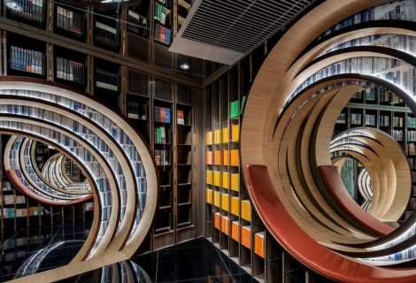 La nuova libreria a Beijing: un'esperienza sensoriale