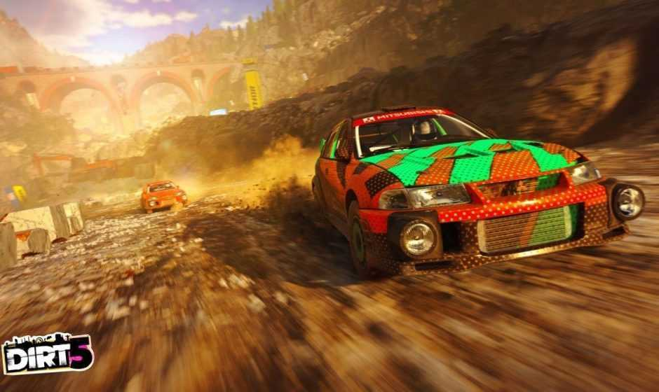 Dirt 5: un gameplay mostra una nuova pista