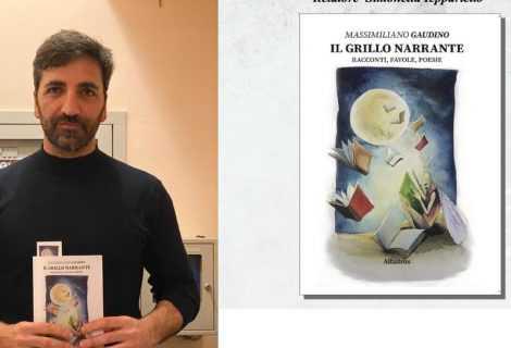 """""""Il Grillo Narrante"""": Massimiliano Gaudino presenta il suo libro"""