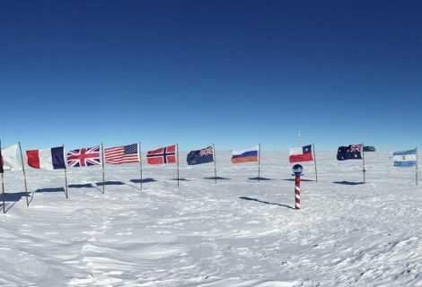 Polo sud: situazione climatica sempre più preoccupante