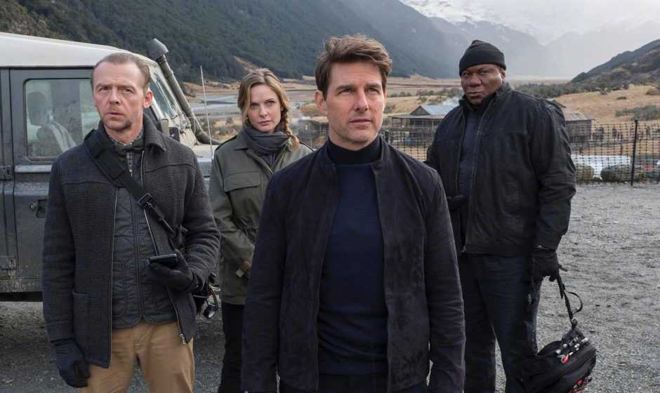 Mission: Impossible 7, Simon Pegg in una foto dal set