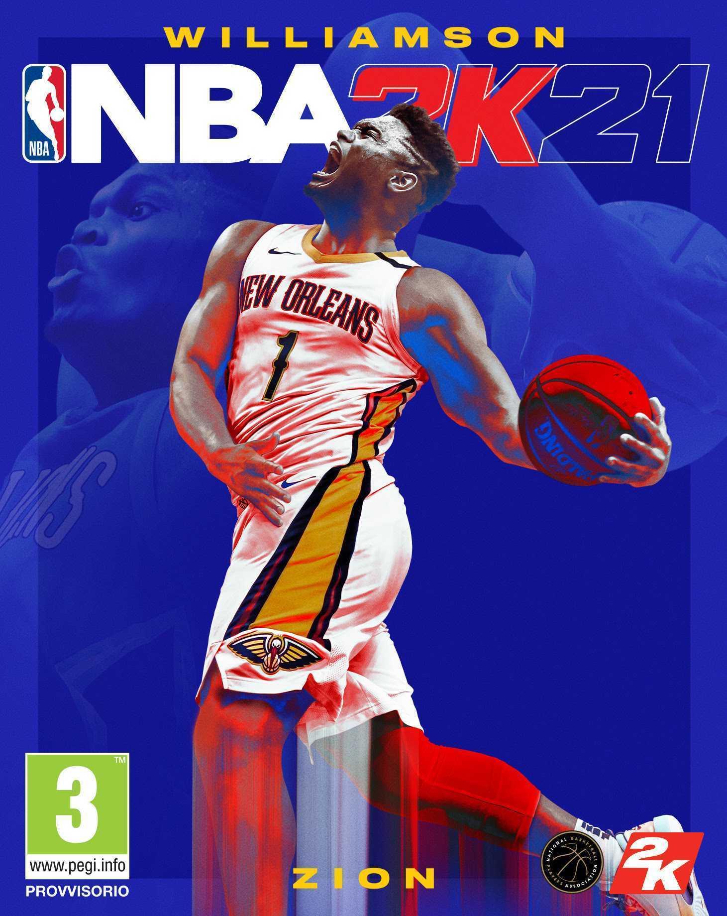 NBA 2K21: Zion Williamson è il secondo uomo copertina!