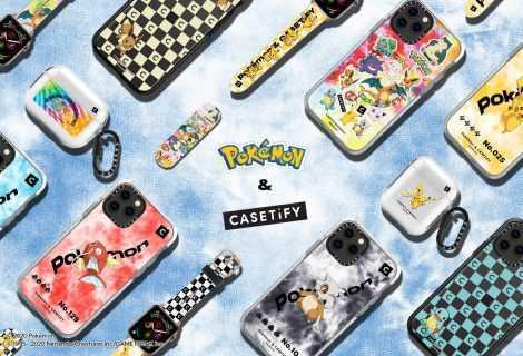 Pokémon: collaborazione con CASETiFY su custodie a tema