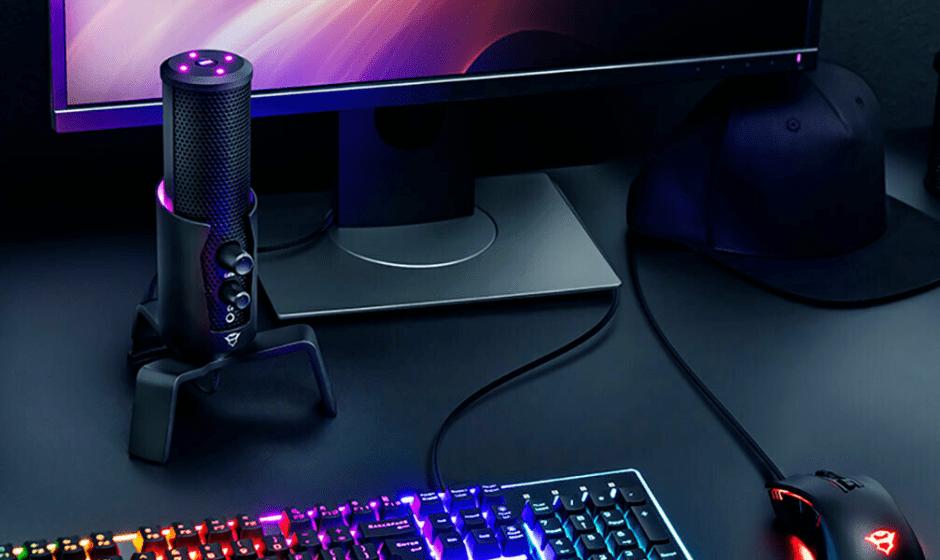 Trust presenta il nuovo microfono top di gamma GXT 258 Fyru 4-in-1