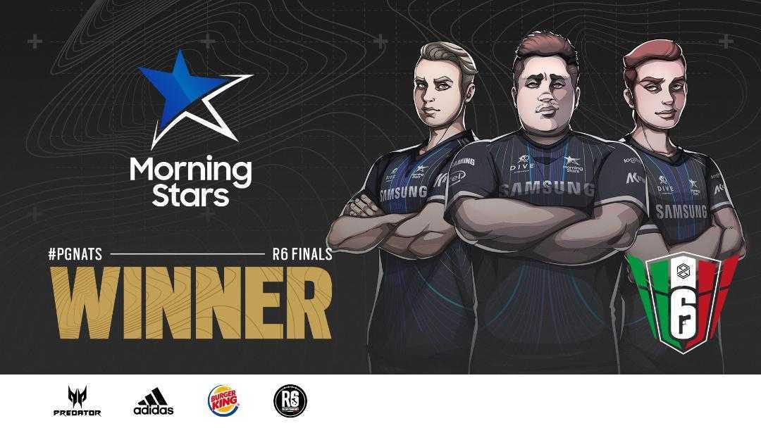 I Samsung Morning Stars vincono i Rainbow Six Siege PG Nationals
