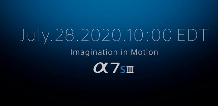Sony A7s III: finalmente l'annuncio il 28 luglio 2020?