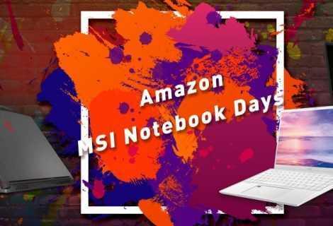 Amazon: iniziano gli sconti degli MSI Notebook Days