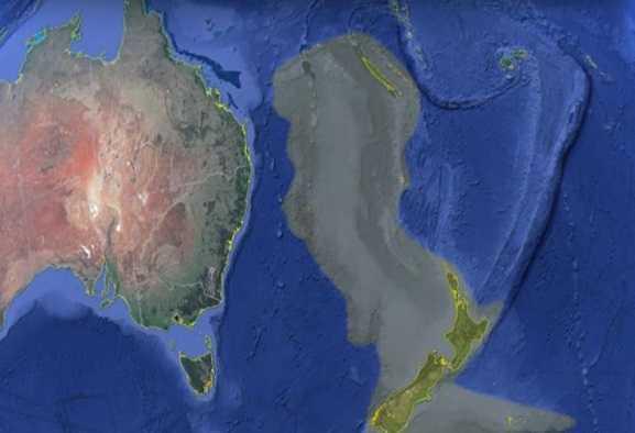 Zealandia: nuove mappe del continente perduto