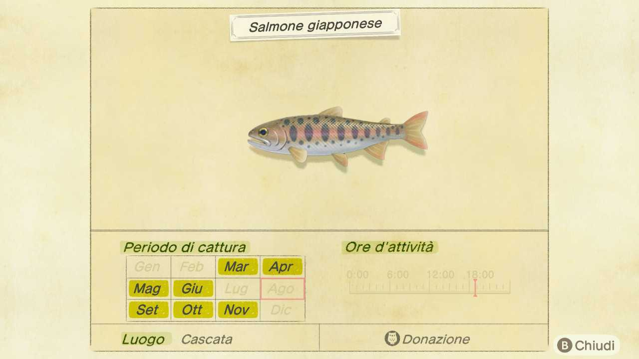 Animal Crossing: New Horizons, i pesci e gli insetti di Settembre